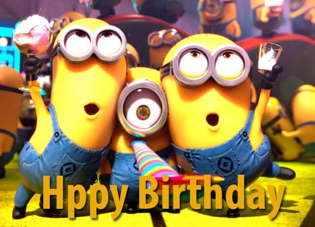 Funny Birthday Memes Minions : Happy birthday minions gif memes images and songs