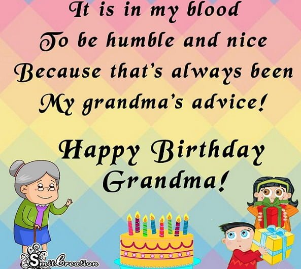 Funny Happy Birthday Wishes For Grandma